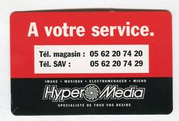 Carte De Visite °_ Carton-Hypermedia Midi.Pyrénées-Numéros Phone - Visiting Cards