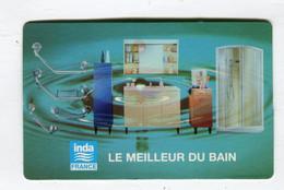 Carte De Visite °_ Carton-Inda-Le Meilleur Du Bain-Elisabeth-78 Guyancourt - Visiting Cards