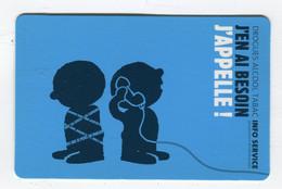 Carte De Visite °_ Carton-J'en Ai Besoin J'appelle-Info.Serrvice - Visiting Cards