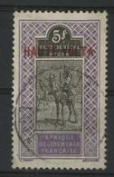 HAUTE VOLTA N° 17 5 Fr Violet Et Noir Cote 4,50 € (très Petite Tache Au Verso) - Used Stamps