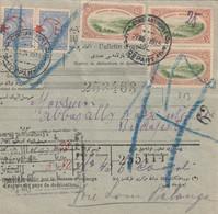 Turquie Bulletin D'expédition Pour La Hongrie 1915 - Covers & Documents