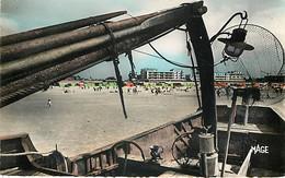 BERCK - La Plage Vu D'un Bateau De Pêche - 352 - Berck