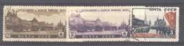 Ru0  -  Russie  :  Yv  1040-42  (o) - Used Stamps