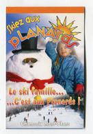 Carte De Visite °_ Carton-Skiez Aux Planards-74 Chamonix - Visiting Cards
