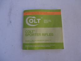 COLT SPORTER 223 - MANUAL - Englisch