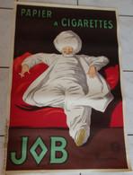 """Affiche PAPIER à CIGARETTES JOB - """"Le Pacha"""" Par Léonetto CAPPIELLO (1875-1942) - 13° Edition Juin 1933 - Manifesti"""