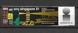 1983 MNH Singapore Mi 436-39, Postfris** - Singapour (1959-...)