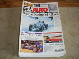 LVA VIE De L'AUTO 875 01.1999 FIAT 6 CYLINDRES Ets JOUBERT BUGATTI JP JARIER - Auto/Moto