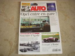 LVA VIE De L'AUTO 915 12.1999 100 Ans OPEL GP MAROC PEUGEOT 203 DECOUVRABLE - Auto/Moto
