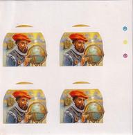 GREAT EXPLORERES- 15th CENTURY GLOBE- FERDINAND MAGELLAN- PROGRESSIVE COLOR TRIAL-#5-PA6-1 - Autres