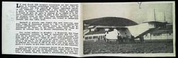 ► AVIATION (1958) Usine De Vélizy - Essai Avion Bréguet 940 - Coupure De Presse (Encart Photo) - Historical Documents
