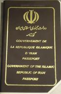 Iran Islamic Republic Passport 1995 With Visa To Italy - Historical Documents