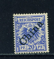 GERMAN PO's IN CHINA  -  1898 Definitive 20pf Hinged Mint - Bureau: Chine