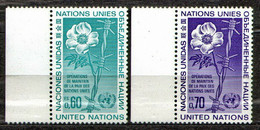 UNO Geneva 1975 Mi 54-55 Peacekeeping Operations U.N.O. - MNH - Ungebraucht