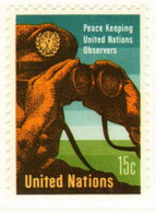 UNO New York 1966 Mi 170 Peace Keeping - MNH - Ungebraucht