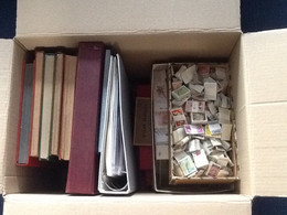 Collection Different Countries **/*/used. - Kilowaar (min. 1000 Zegels)