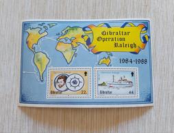 Gibraltar 1988 - SS 11 Operation Raleigh – MNH - Gibraltar