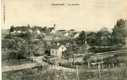 CHAMPVANS - VUE GENERALE - - Altri Comuni