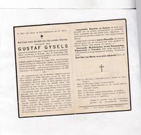 :  E.H.GYSELS °RUMBEKE 1889 +KORTRIJK 1948  ROESELARE, NIEUWPOORT, DIKSMUIDE ( WOI Aalmoezenier Vluchtelingen Te ROUEN ) - Images Religieuses