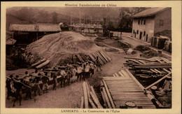 CHINE - LANKIATU - Mission Dominicaine De Chine - Construction De L'église - Cina