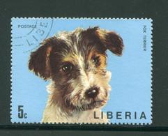 LIBERIA- Y&T N°639- Oblitéré (chien) - Liberia