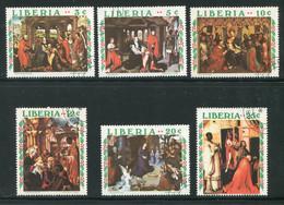 LIBERIA- Y&T N°506 à 511- Oblitérés - Liberia