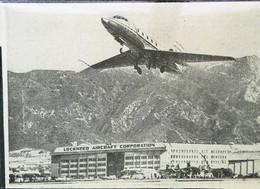 "► AVIATION (1958) Edwards Air Force Base ""Jetstar"" Lockheed Aircraft Corp. California - Coupure De Presse (Encart Photo) - Historical Documents"