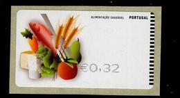 68 Gesundes Essen  (1) ** Postfrisch, MNH, Neuf - Automatenmarken (ATM/Frama)