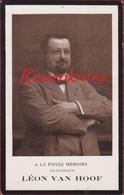 Leon Van Hoof Maria De Cocq Anvers Antwerpen 1913 Bidprentje Met Foto Doodsprentje Image Mortuaire - Images Religieuses