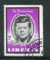 LIBERIA- P.A Y&T N°146- Oblitéré (Kennedy) - Liberia