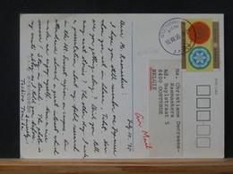 A13/724  CP   JAPON  POUR LA BELG.  1995 - Covers & Documents