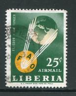 LIBERIA- P.A Y&T N°139- Oblitéré - Liberia