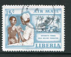 LIBERIA- P.A Y&T N°108- Oblitéré - Liberia