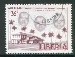 LIBERIA- P.A Y&T N°109- Oblitéré - Liberia