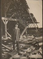 Photo Aout 1919 CAMBRAI - La Charpente De L'église Saint-Géry (A229, Ww1, Wk 1) - Cambrai