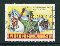 LIBERIA- Y&T N°908- Oblitéré - Liberia