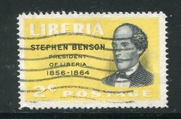 LIBERIA- Y&T N°350- Oblitéré - Liberia