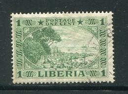 LIBERIA- Y&T N°168- Oblitéré - Liberia