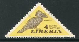 LIBERIA- Y&T N°320- Oblitéré (oiseaux) - Liberia