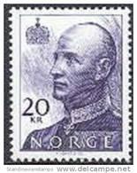 Noorwegen 2001 20kr Koning Harald Tanding 13¼x13¾ PF-MNH-NEUF - Unused Stamps