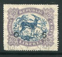 LIBERIA- Service Y&T N°139- Oblitéré - Liberia