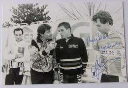 Gilles MAS - Signé De - Dédicace - Autographe Authentique - Cyclo Cross Dijon 1989 - Wielrennen