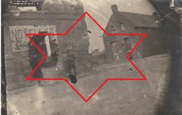 Photo Aout 1919 CANTAING-SUR-ESCAUT (près Cambrai) - Une Rue (A229, Ww1, Wk 1) - Other Municipalities