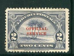 LIBERIA- Service Y&T N°150- Oblitéré - Liberia