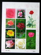 Thailand Stamp SS 2010 Rose 8th - Thailand