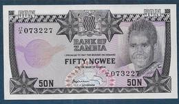 ZAMBIE - 50 Ngwee - Zambia