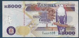 ZAMBIE - 5000  Kwacha - Zambia