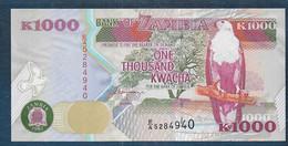 ZAMBIE - 1000  Kwacha - Zambia