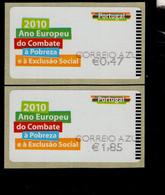 70 Gegen Armut Und Ausgrenzung Correio (6) ** Postfrisch, MNH, Neuf - Automatenmarken (ATM/Frama)