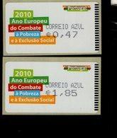 70 Gegen Armut Und Ausgrenzung Correio (5) ** Postfrisch, MNH, Neuf - Automatenmarken (ATM/Frama)